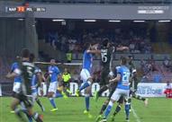بالفيديو والصور- نابولي يسحق ميلان في مباراة مثيرة بالكالتشيو