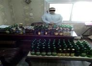 القبض على تاجر هرب كمية كبيرة من الخمور للمنيا بقصد الإتجار