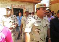 رئيس أركان المنطقة الشمالية يتفقد مدارس ذوي الاحتياجات الخاصة بالإسكندرية