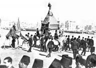 فيديو نادر.. الملك فاروق الأول يودع المحمل الشريف 1938