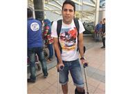 محمد إبراهيم يسافر إلى ألمانيا لبدء البرنامج التأهيلي