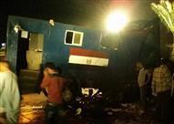 انقلاب سيارة أمن مركزي على الطريق الصحراوي.. وإصابة 3 مجندين