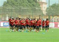 مران الأهلي استعدادا للزمالك في قمة نهائي كأس مصر
