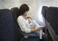 7 نصائح ذهبية للأم المسافرة جواً برفقة طفلها الرضيع