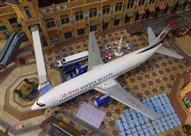"""بالصور.. الصين تحول طائرة بوينج لـ """"مطعم"""" وتضعها في ميدان عام!"""