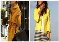 بالصور.. الأصفر هو عنوانك لخريف هذا العام