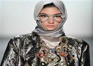 بالصور..لأول مرة.. الحجاب يطل في أسبوع الموضة بنيويورك