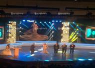 صور - كيف علق يوسف شعبان على تكريمه بمهرجان الإسكندرية السينمائي