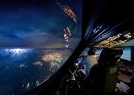 أروع الصور الملتقطة من قمرة القيادة.. شاهد كيف تبدو سيناء؟