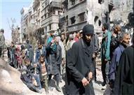 مصادر سورية: خروج 100 مسلح من حي الوعر في حمص