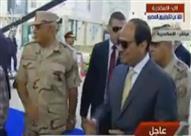 السيسي يفتتح مستشفى مشروع بشاير الخير 1 بغيط العنب