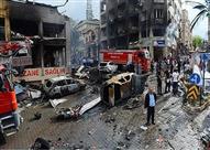 مقتل وإصابة 10 أشخاص جراء انفجار قنبلة جنوب شرق تركيا