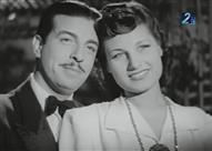 صورة نادرة لأنور وجدي وليلى فوزي في شهر العسل بباريس
