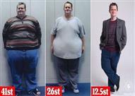 بالصور.. كيف خسر هذا الشاب 180 كيلو من وزنه في 18 شهراً فقط؟