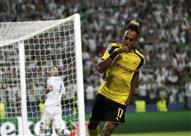 هدف التعادل لدورتموند في ريال مدريد عن طريق أوباميانج