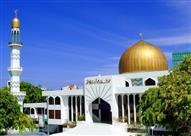 مسجد السلطان محمد تاكور الأعظم.. أكبر مركز إسلامى بأصغر جزيرة بالعالم