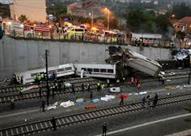 مقتل 3 اشخاص وإصابة 75 آخرين في حادث قطار بولاية أمريكية