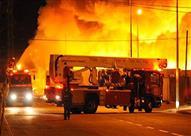 السيطرة على حريق شب في فندق بأسوان دون إصابات