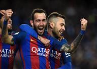 أهداف (برشلونة 5 - لاس بالماس 0)