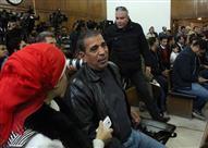 """موجه بالتعليم جاء من الشرقية لحضور المحاكمة: """"ولاد عمي استشهدوا في"""
