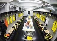 غرف تبديل ملابس اللاعبين حول العالم.. بينها غرفة الفراعنة في الجابون - صور