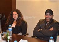 """بالصور - أحمد السقا وصادق الصباح يضعان اللمسات الأخيرة لـ """"الحصان الأسود"""""""