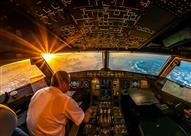بالفيديو - مشهد رائع لن تراه سوى من قمرة الطائرة
