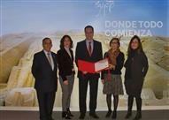 """الجناح المصري بمعرض """"فيتور"""" السياحي بإسبانيا يحصل على الجائزة الأول"""