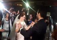 بالصور - كيف احتفل النجوم بزفاف عمرو يوسف وكندة علوش؟