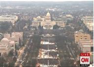 بالصور- مقارنة بين حشود ترامب وحشود تنصيب أوباما عام 2009