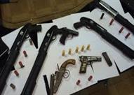 ضبط أسلحة وذخيرة في منزل زوج فنانة شهيرة بأكتوبر
