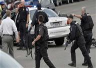 اعتقال 95 محتجا خلال تظاهرات مناهضة لترامب بواشنطن