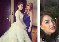 بالصور.. هل كانت كندة موفقة في اختيار فستان الزفاف الثاني؟