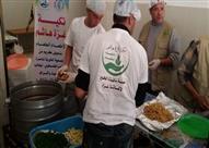 """تكية """"هاشم"""" تُحاصر الجوع في قطاع غزة"""