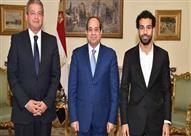 محمد صلاح يكشف كواليس زيارته بالسيسي