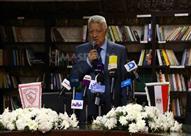 المؤتمر الصحفى لمرتضي منصور للإعلان عن قناة الزمالك