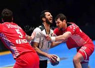 مباراة مصر وكرواتيا بكأس العالم لكرة اليد