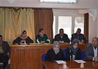 بالصور...مجلس المحلة يناقش الخطة المالية للمشروعات الخدمية