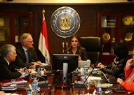 سحر نصر تبحث مع المفوضية الأوروبية دعم التنمية بمصر والهجرة غير الشرعية