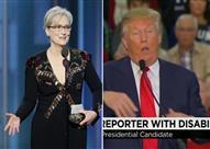 """ميريل ستريب تسخر من ترامب.. والأخير يرد: """"إحدى إمّعات هيلاري"""""""