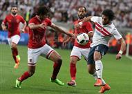 مباراة الأهلي والزمالك بالسوبر - صور