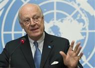 دي ميستورا: الأزمة السورية لن تُحل إلا بالخيار السياسي