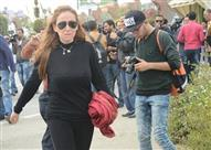 بالفيديو- ريهام سعيد تتعرض لموقف محرج أثناء التصوير مع نائب محافظ