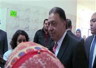 """بالفيديو - وزير الصحة لأطباء مستشفى روض الفرج: """"الريحة دي حد يستحملها"""""""