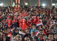 مصراوي يرصد احتفال الجماهير في مركز شباب الجزيرة