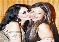 فيديو طريف لغادة عبد الرازق مع ابنتها روتانا