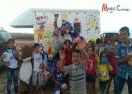 """سوريا في """"الكرفان السحري""""..  حلم إنقاذ الوطن داخل 12 متر (فيديو وصور)"""