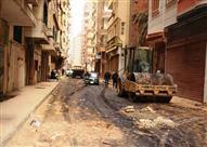 بالصور - محافظ سوهاج: اعتماد 950 ألف جنيه لاستكمال مشروعات حي شرق