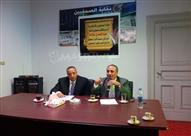 عبد المحسن سلامة: أحمل مشروعًا متكاملاً.. وحل أزمة الصحف المتوقفة خلال 6 أشهر (صور)