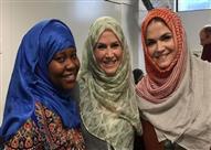 """""""شباب الأزهر"""" يشيد بارتداء كنديات للحجاب تضامنًا مع المسلمات"""